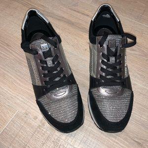 Black MK sneakers